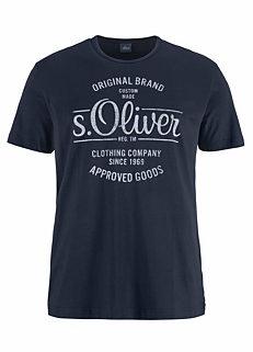shop for s oliver blue tops mens online at grattan. Black Bedroom Furniture Sets. Home Design Ideas